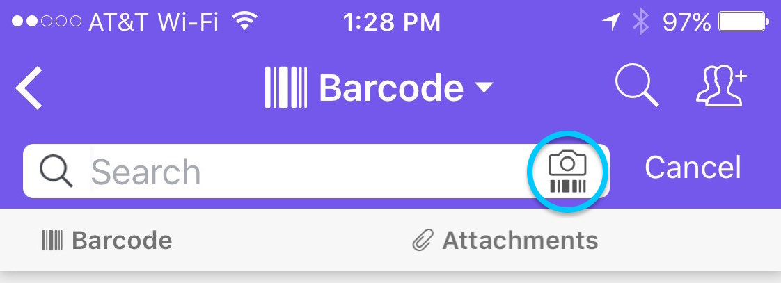 Airtable for mobile: More on the barcode field type – Airtable - Support